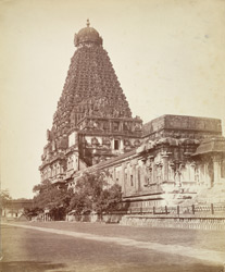 The Great Tower over the chief shrine of the Temple, Tanjore.
